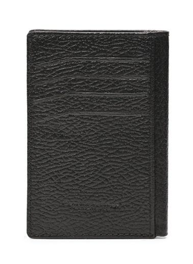 Deri Company Erkek Hakiki (Gerçek) Deri Cüzdan Çıtçıtlı Floater Desen Siyah 113515 Siyah